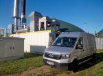 G-ServicewagenVorBiogasanlage